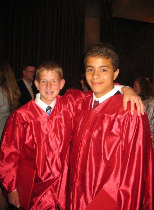 EJH graduation. On to high school!