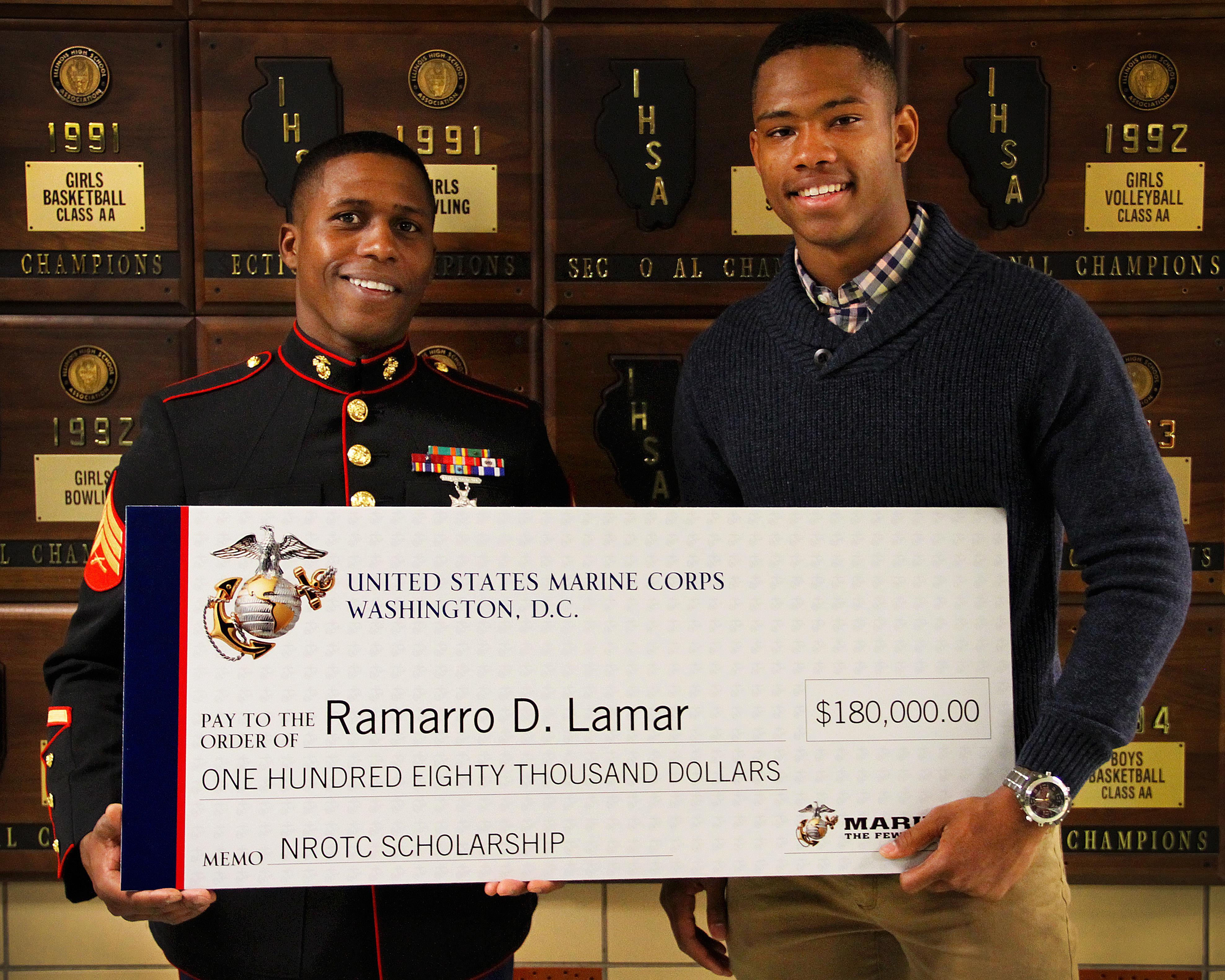 20170308 - Lamar Scholarship